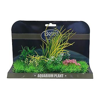 Betta Choice X-Large Plant Mat-Green & Pink