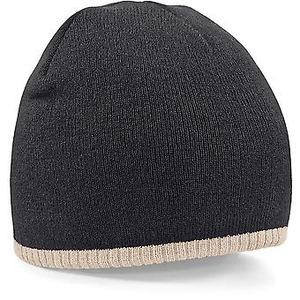 Beechfield - Two-Tone Pull On Beanie Hat