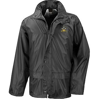 Royal Regiment of Wales - Licensed British Army Embroidered Waterproof Rain Jacket