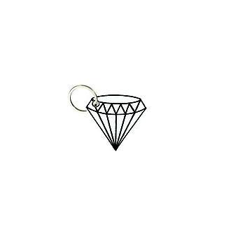 Porte Cle Cles Clef Brode Patch Ecusson Morale Diamant Emo Punk Diamond