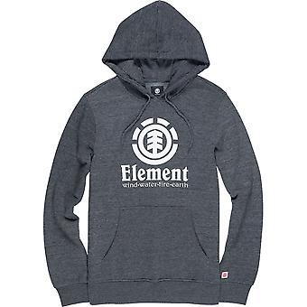 Element Vertical Pullover Hoody in Charcoal Heathe