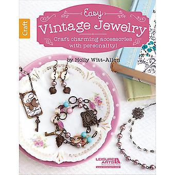 Leisure Arts-Easy Vintage Jewelry LA-6448