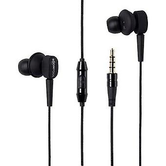 Headphone Boompods Earbuds Android In-ear Headset Black