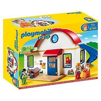 Playmobil 6784 1,2,3 Suburban Home (Toys , Preschool , Playsets , Stages)