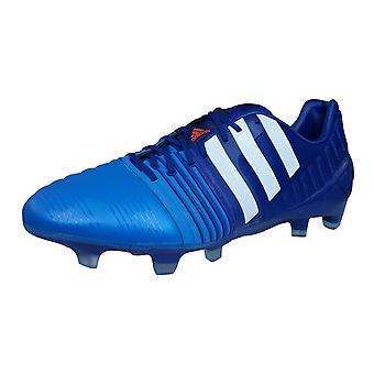 344fd3142 adidas Football Boots Nitrocharge 1.0 FG Mens Cleats - Blue