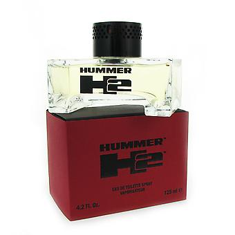 Hummer H2 for mænd 4,2 oz 125 ml EDT Spray