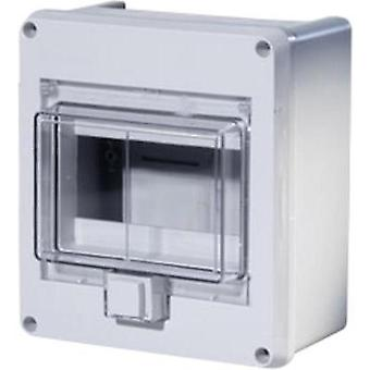 Switchboard cabinet Surface-mount No. of partitions = 6 No. of rows = 1 F-Tronic 7240051