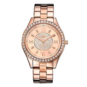 JBW diamond ladies stainless steel watch MONDRIAN - rose gold