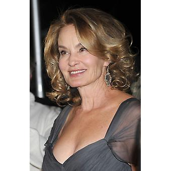 Jessica Lange At Arrivals For Grey Gardens New York Premiere The Ziegfeld Theatre New York Ny April 14 2009 Photo By Kristin CallahanEverett Collection Photo Print