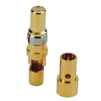 Coaxial connector (receptacle) Gold on nickel Conec 132J20049X 1 pc(s)