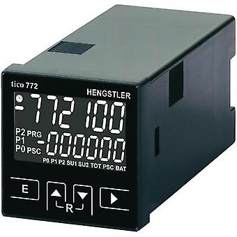 Hengstler tico 772 Multifunctional counter tico 772 12 - 30 V/DC 2R Assembly dimensions 45 x 45 mm