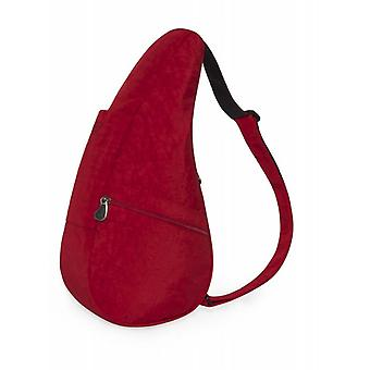 The Healthy Back Bag Textured Nylon Crimson Red Small