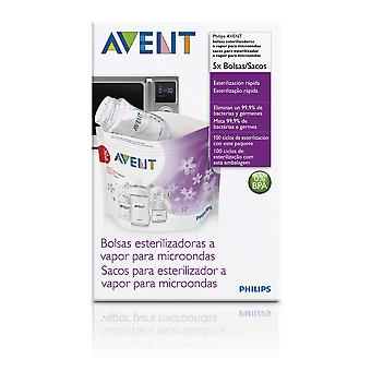 Avent 5 Microwave Steam Steriliser Bags