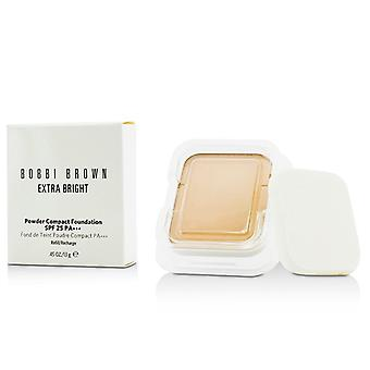 Bobbi Brown Extra hell Powder Compact Foundation SPF 25 Nachfüllen - #1 Warm Elfenbein 13g / 0,45 Unzen
