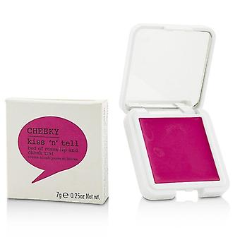 Cheeky Kiss N Tell Lip And Cheek Tint - Bed Of Roses 7g/0.25oz