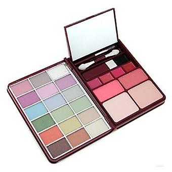 Cameleon MakeUp Kit G0139 (18x Eyeshadow 2x Blusher 2x Pressed Powder 4x Lipgloss) - 1 - -