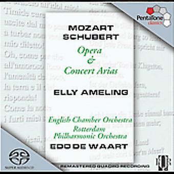 Mozart/Schubert - Mozart, Schubert: Opera & koncert arier [SACD] USA import
