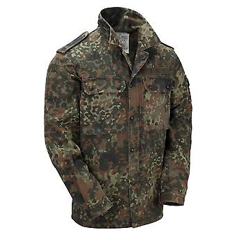 Original Issued German Flecktarn Shirt Grade 1