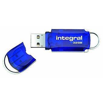 Integral USB High Speed Courier Flash Drive 32GB