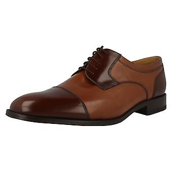 Mens Loake Wantage Extra Wide Lace Up Shoes With Oxford Front
