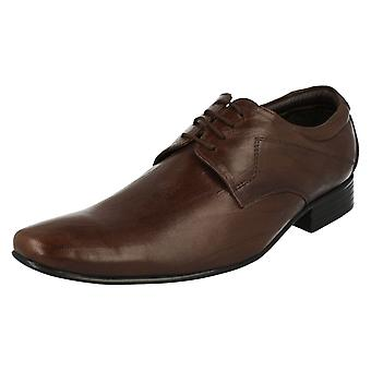Mens Tag1 Smart Leather Lace Up Shoes AM-814