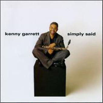 Kenny Garrett - Simply Said [CD] USA import