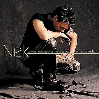 Nek - Las Cosas Que Defendere [CD] USA import