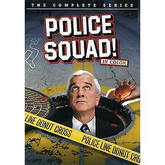 Politiet trup: Hele serien [DVD] USA importerer