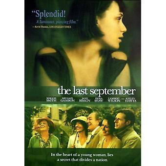 Last September [DVD] USA import