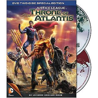 Justice League: Throne of Atlantis [DVD] USA import