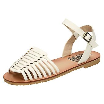Ladies Casual Down to Earth Strappy Sandals