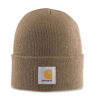 Carhartt Acrylic Watch Cap - Frontier Brown CHA18FRB Mens Winter Beanie Ski Hat