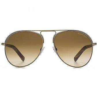 Tom Ford Cody Sunglasses In Gold