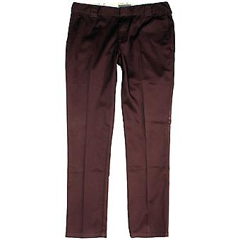 Dickies C182 Slim Fit Chino byxa Maroon
