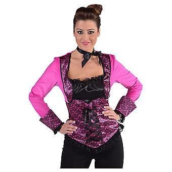 Kvinder kostumer Top mødte korset burleske Pink