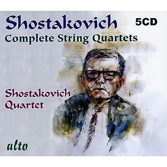 D. Sjostakovitj - Sjostakovitj: Komplett stråkkvartetter [CD] USA import