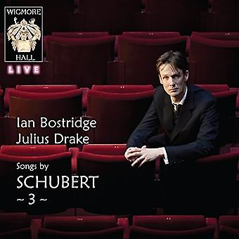 Ian Bostridge - sange af Schubert 3 [CD] USA import