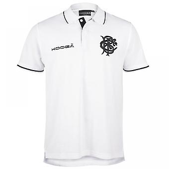 2016-2017 barbares Pique Polo Shirt (White)