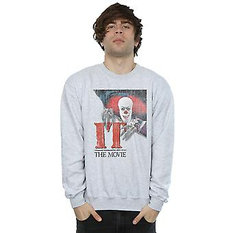 IT Men's Distressed Poster Sweatshirt