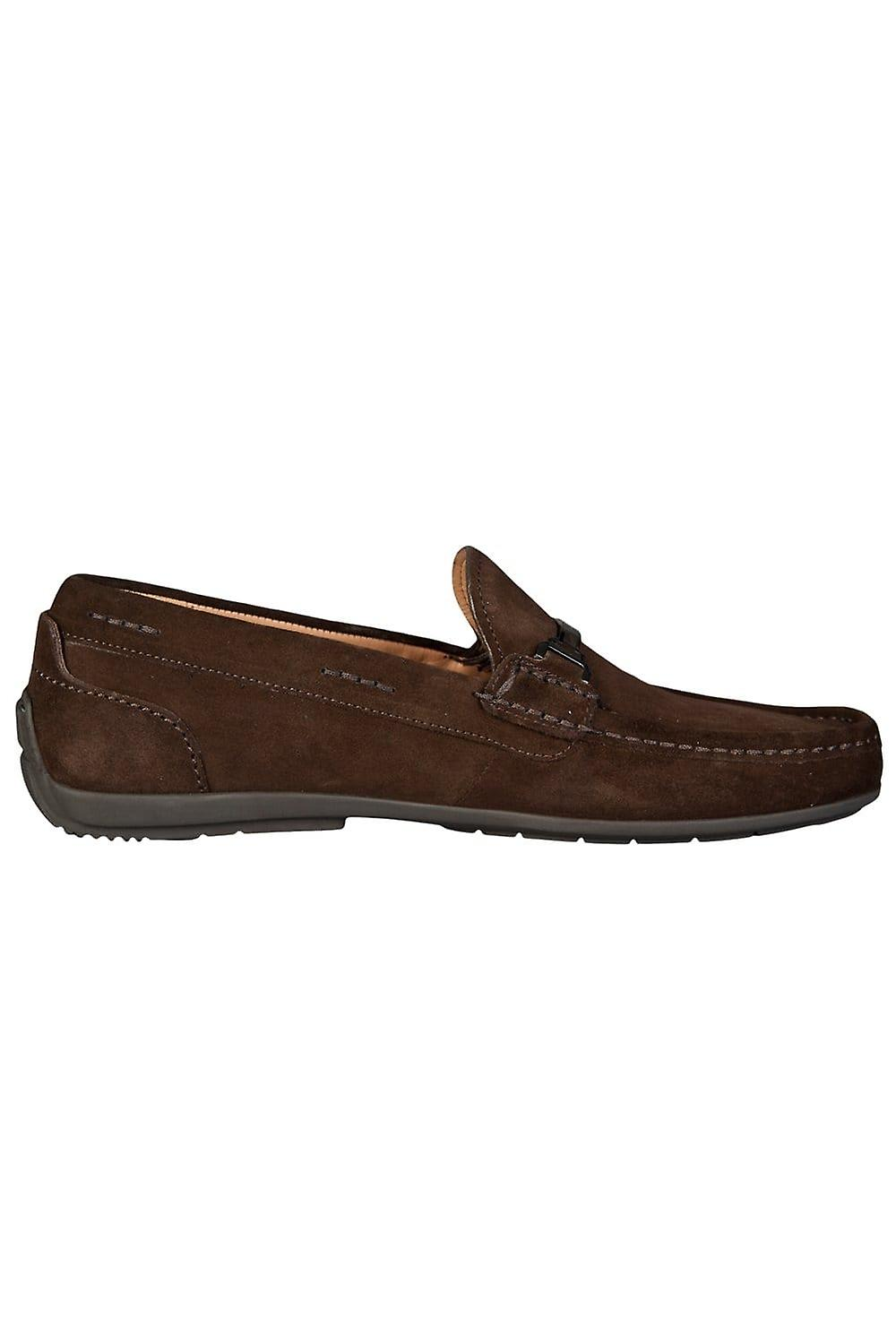 BOSS HUGO BOSS BLACK Driving Shoes In Brown And Navy Blue FLARRO 50285482