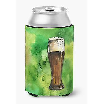 Carolines Treasures  BB5760CC Irish Beer Dark Can or Bottle Hugger