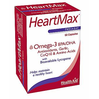 Health Aid HeartMax Blister (Omega-3 EPA/DHA, Lycopene, Grape Skin Extract ++), 60 Capsules