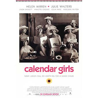 Calendar Girls Movie Poster (11 x 17)