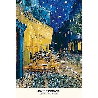 Cafe Terrace - Vincent Van Gogh Poster Poster Print