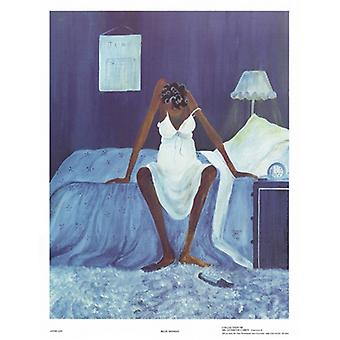 Blue Monday Poster Print by Annie Lee (18 x 24)