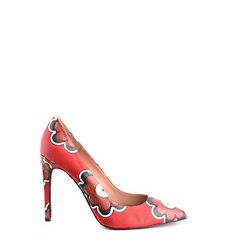 Jeffrey Campbell women's MCBI163003O red leather pumps