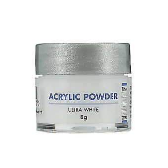 The Edge Nails Acrylic Powder Ultra White 8g