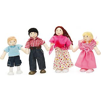 Le Toy Van Doll Family Of Four