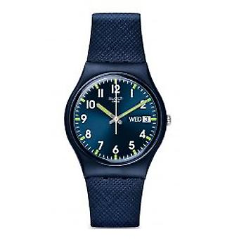 Farbfeld Sir blau Armbanduhr (GN718)
