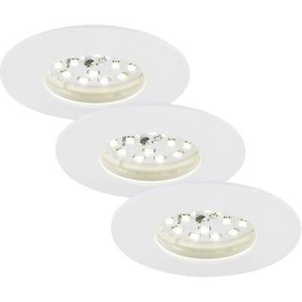 Briloner 7231-036 LED recessed light 3-piece set 16.5 W Warm white White